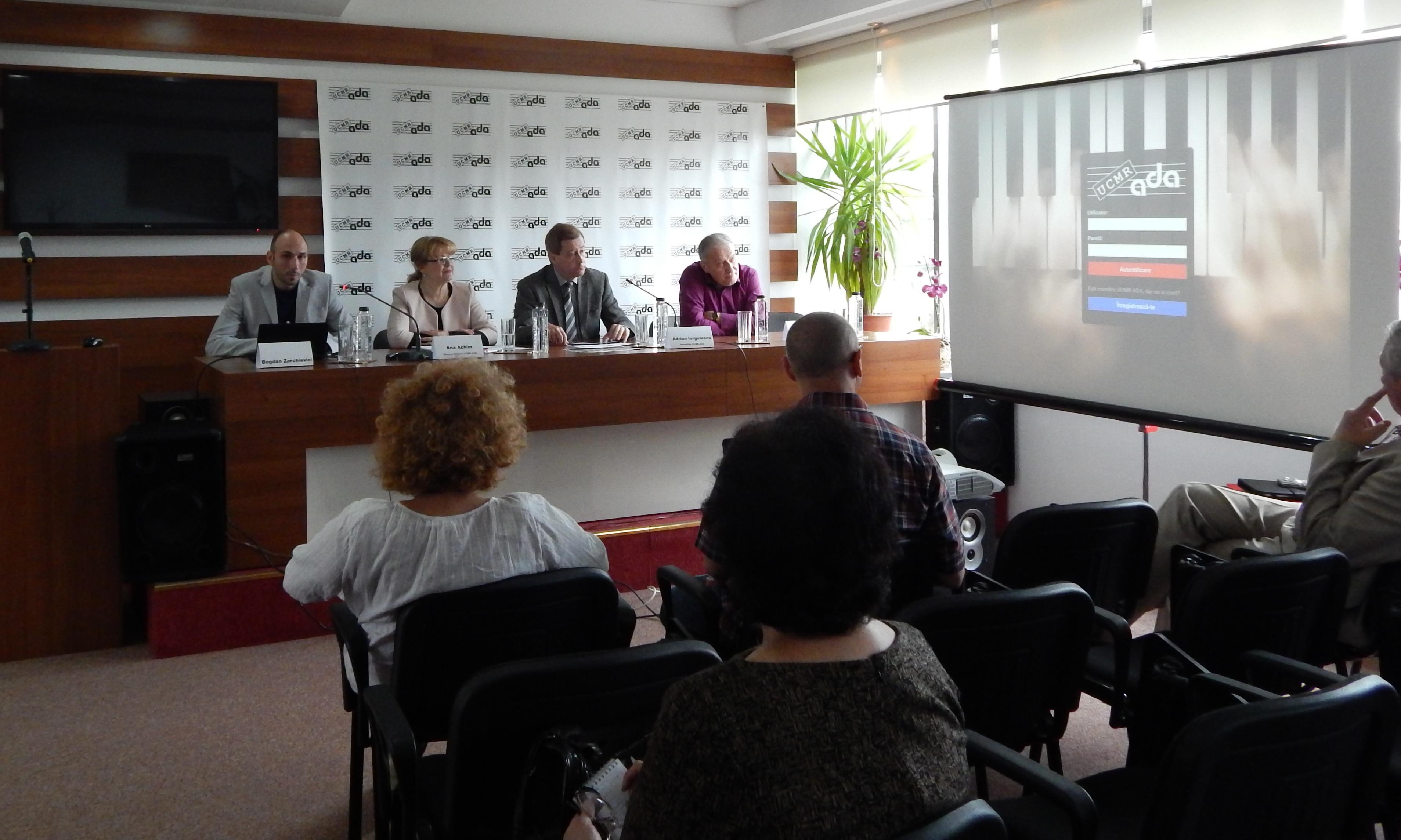 Conferinta UCMR-ADA - Lansare platforma online pentru membrii 1