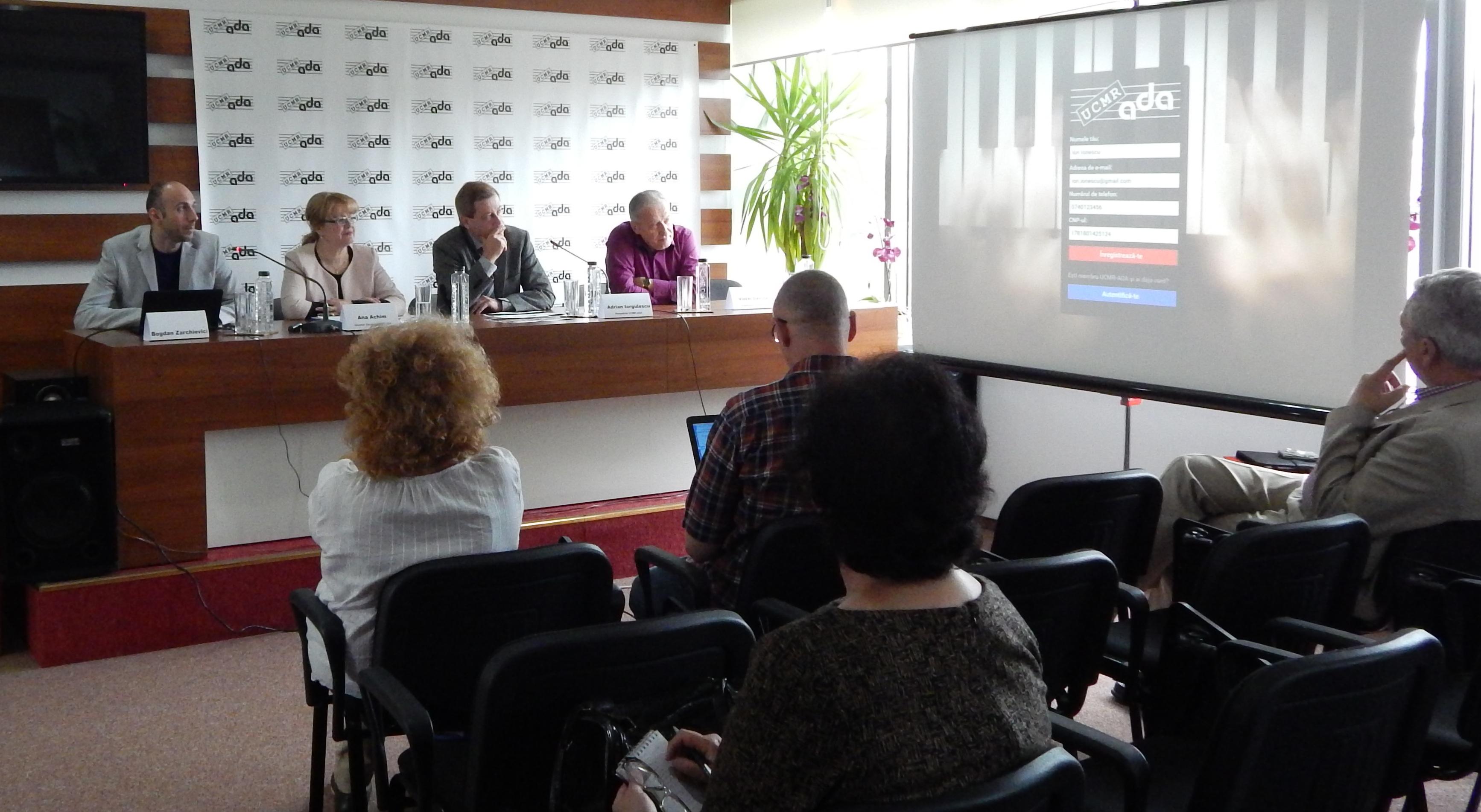 Conferinta UCMR-ADA - Lansare platforma online pentru membrii 3